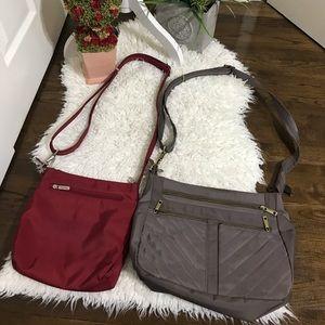 2 travelon Crossbody purses
